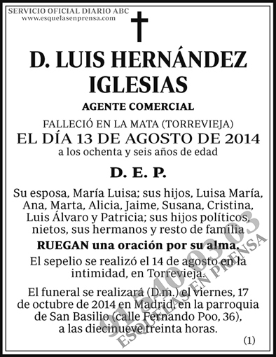 Luis Hernández Iglesias